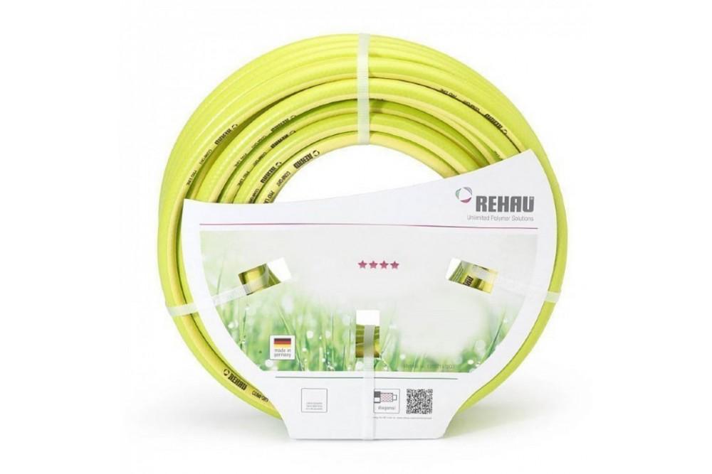Рехау шланг поливочный 3/4 50м Pro Line gelb (желтый) 1