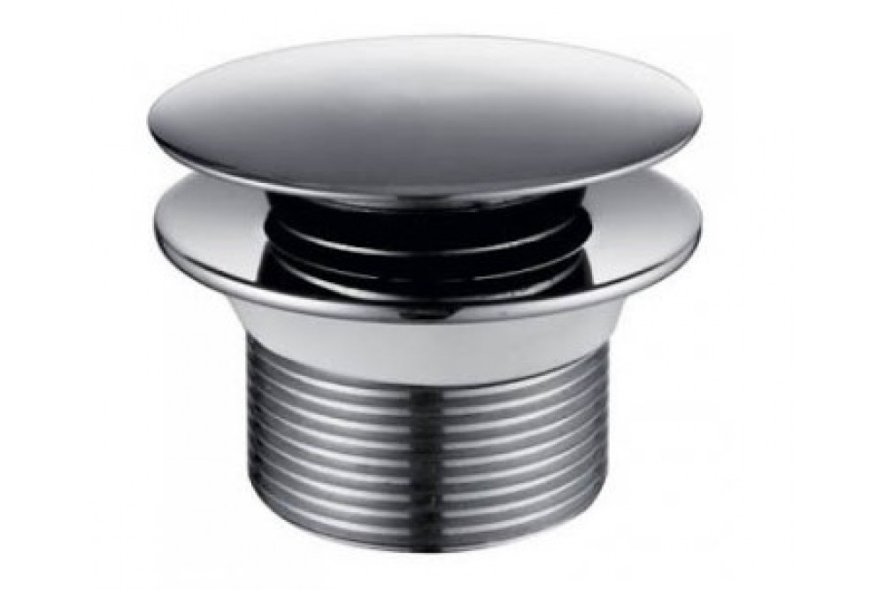 Донный клапан KAISER автомат (ХРОМ), без перелива 8004В