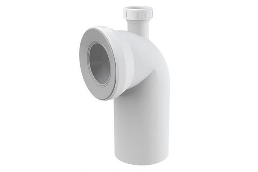 Угол для унитаза 90х110, гайка 40, А90-90Р40, Alca plast