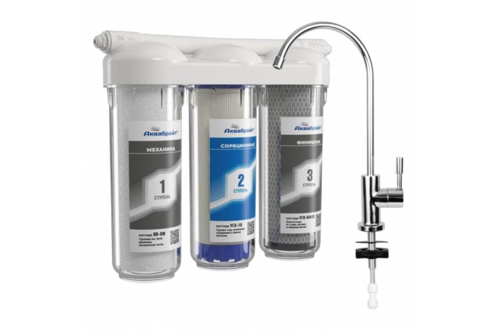 АБФ-ТРИА-АНТИЖЕЛЕЗО ТРЕХСТУПЕНЧАТАЯ система очистки воды 1