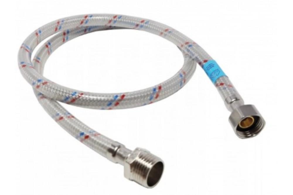 Полимерная подводка для воды 1/2 150 см г.ш. Оптима (силикон)