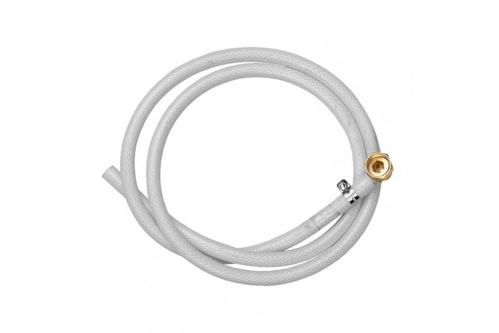 Шланг белый для подвода воды к душевым лейкам ШП-01