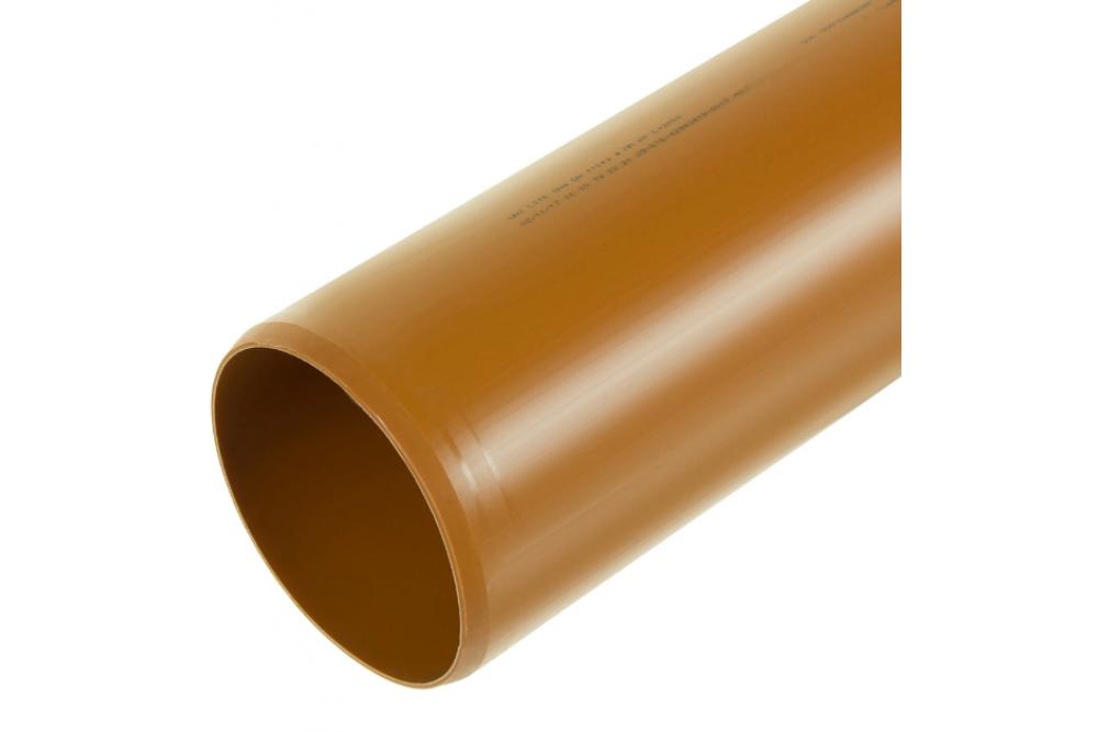 ПВХ труба 110 рыжая 3м, Флекстрон