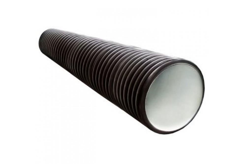 Дренажный колодец 250/218 6 метров черный с раструбом