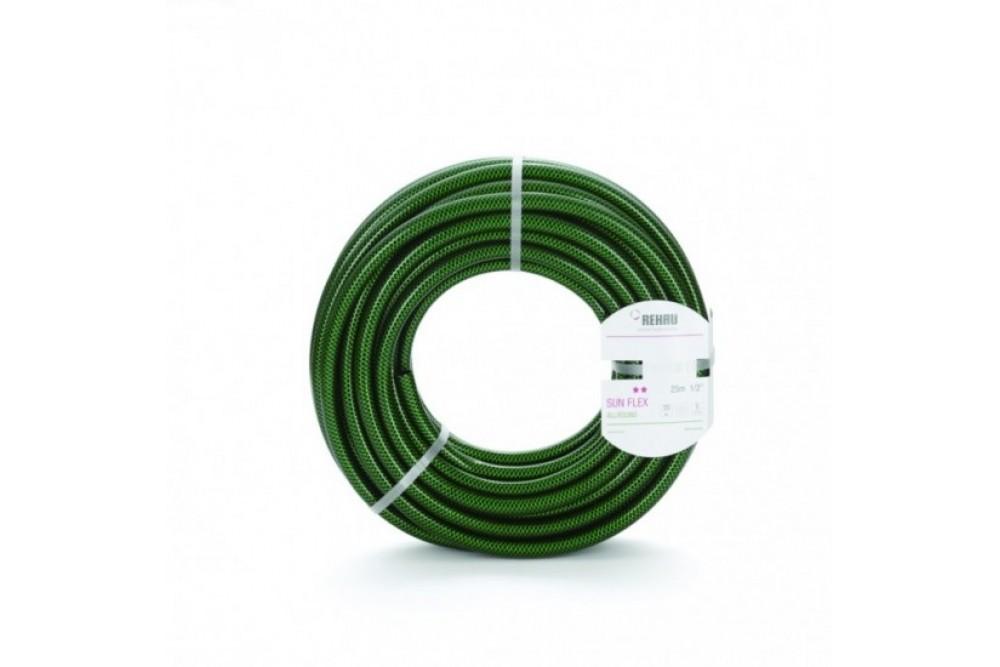 Рехау шланг поливочный 1/2 50 м. SUN FLEX (зеленый) 2