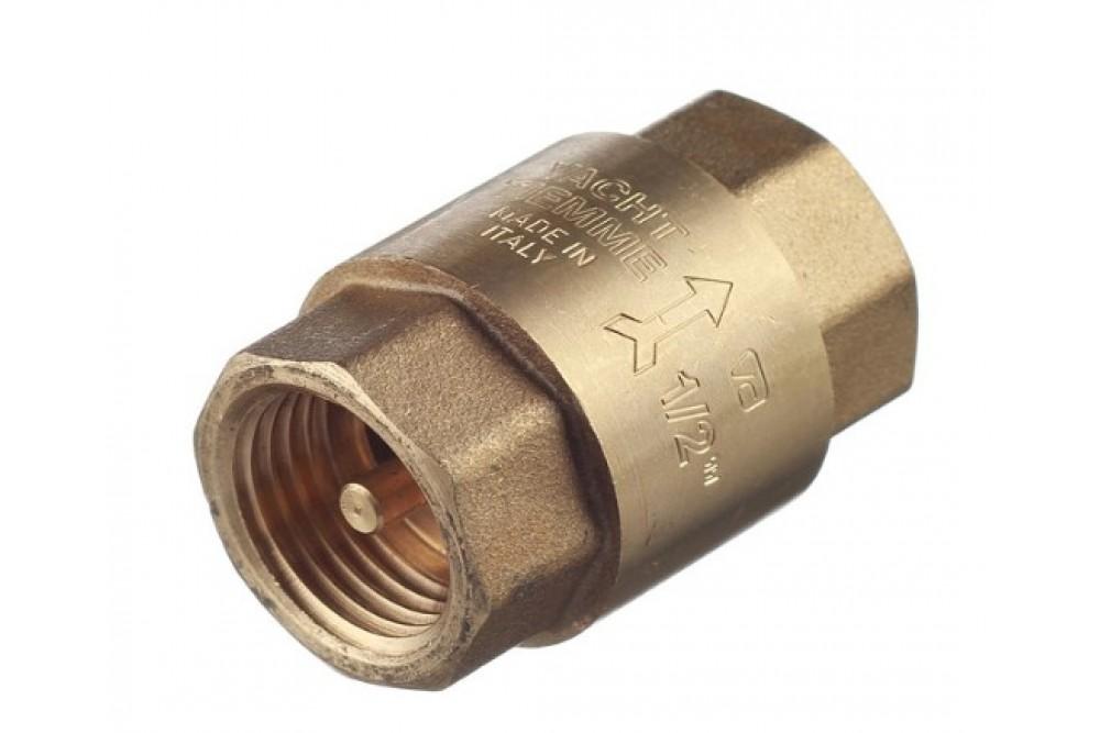 Обратный клапан латунный 1
