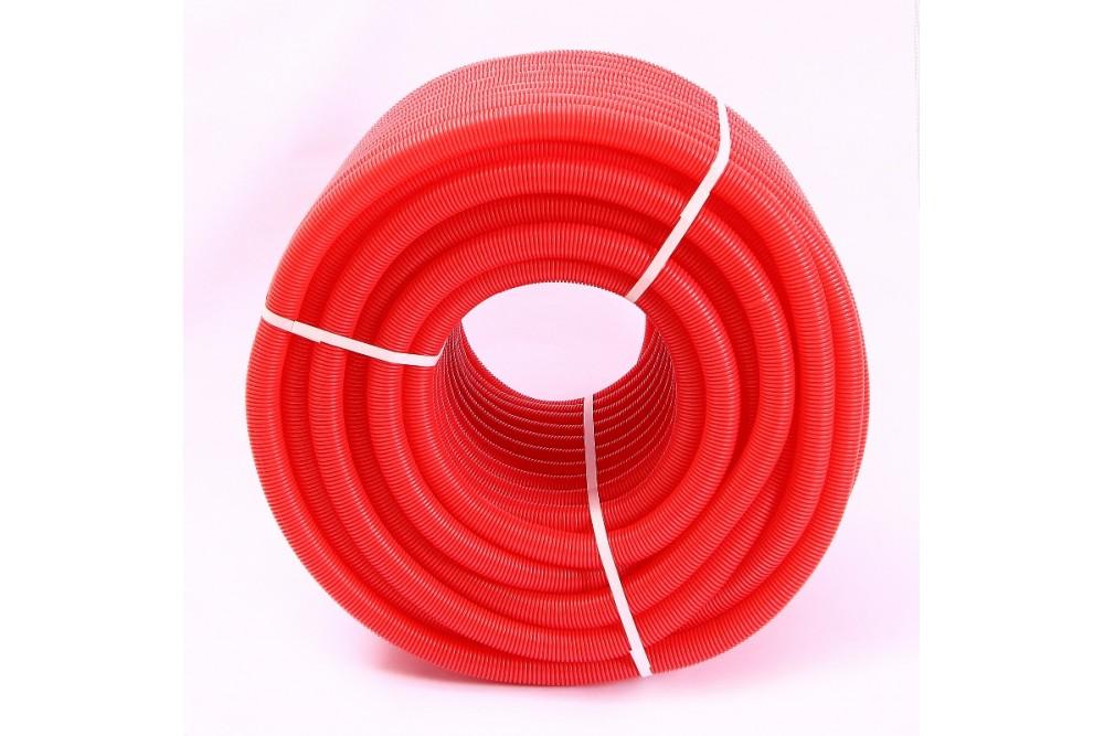 Кожух гофрированный 16 (100 метров красный)