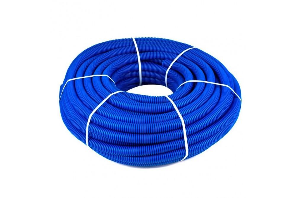 Кожух гофрированный 16 (50 метров синий)