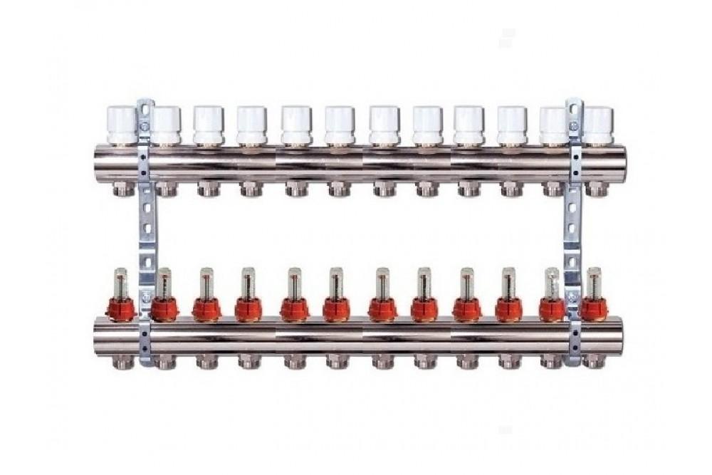 Группа коллекторов с расходом 12 контуров Виеир