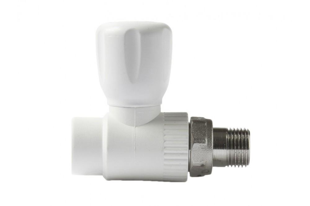 ПП Кран для радиатора прямой 20 мм