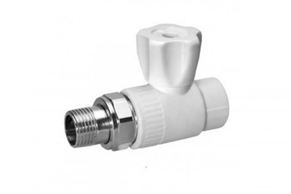 ПП Кран для радиатора прямой 25 мм