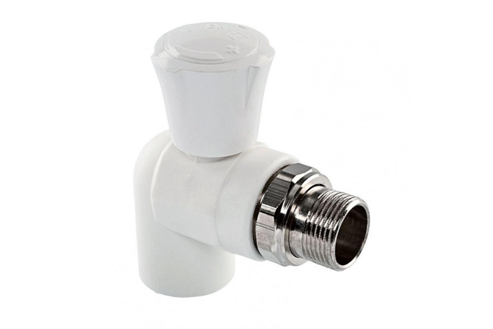 ПП Кран для радиатора угловой 20 мм