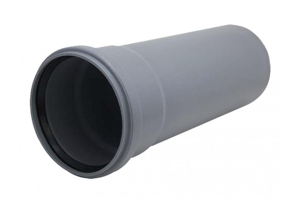 ПВХ Труба 110 серая 0,5м.