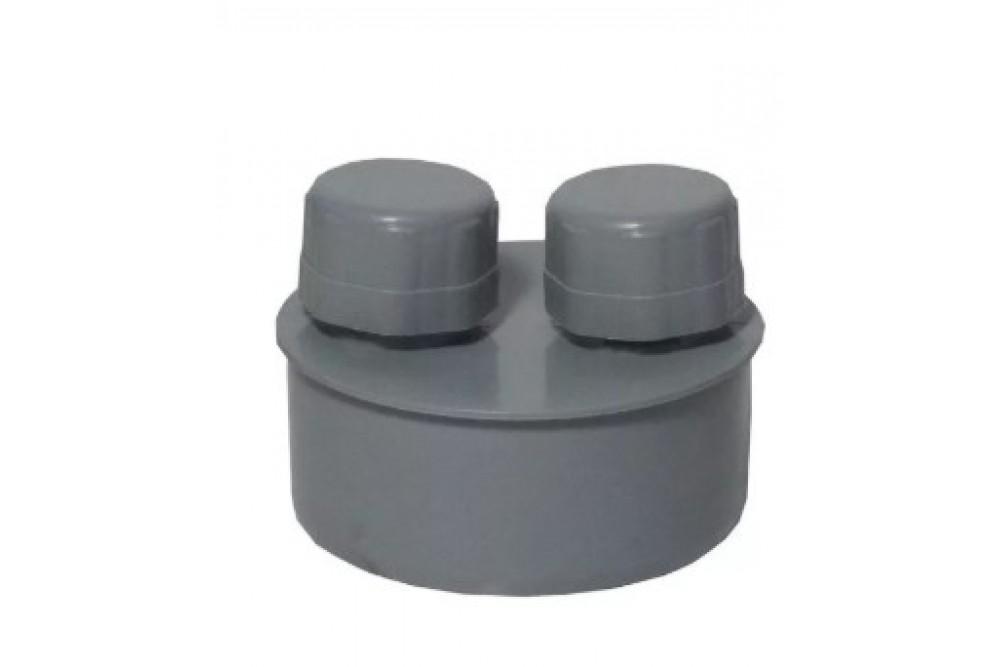 ПВХ айратор 110 серый (воздушник)