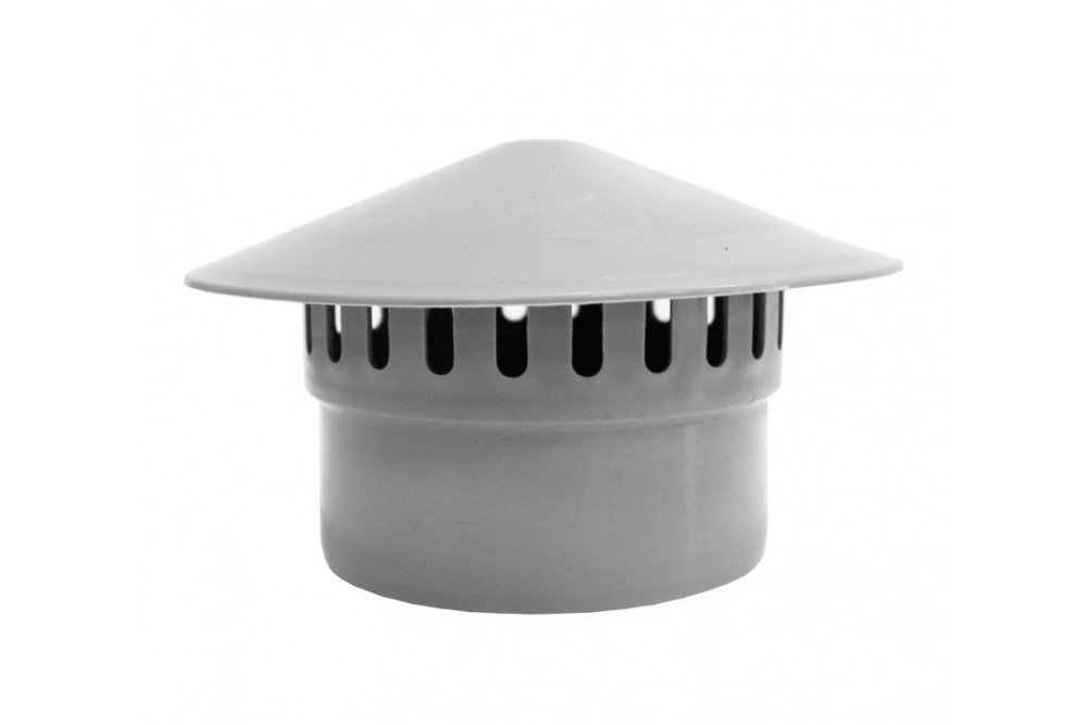 ПВХ грибок 110 серый