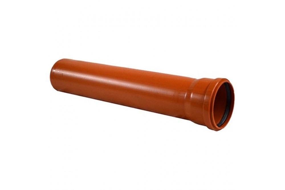 ПВХ Труба 110 рыжая 3 метра Остендорф