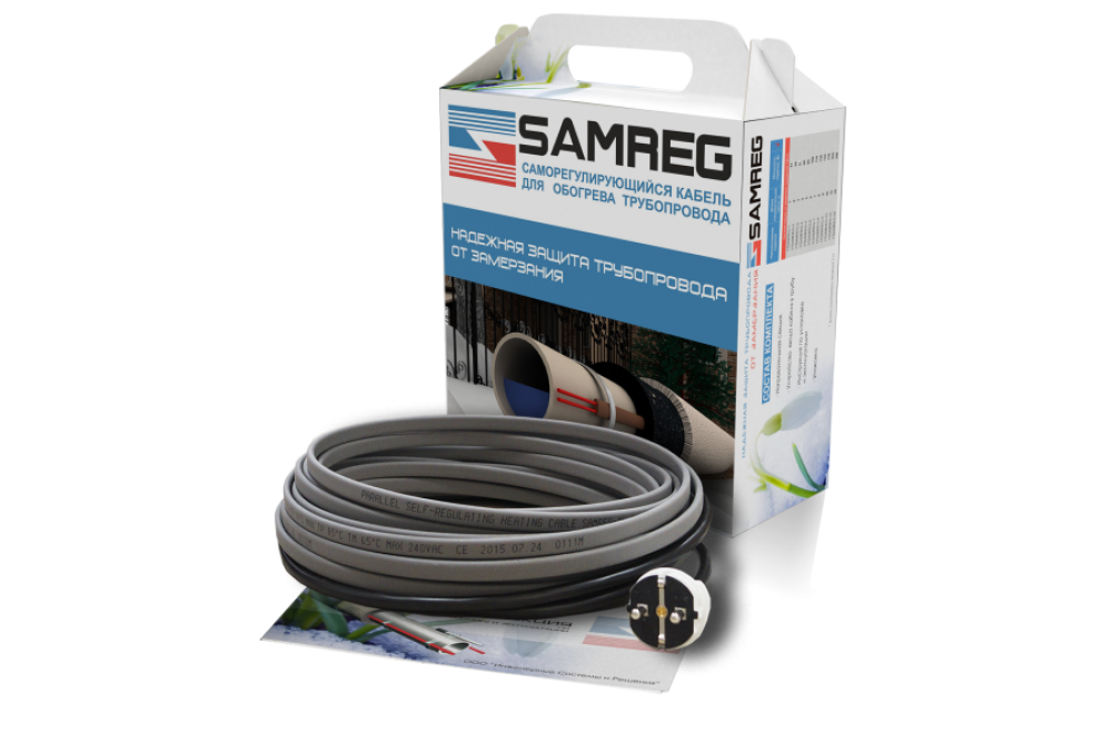 Обогревающий кабель Samreg - 18 м