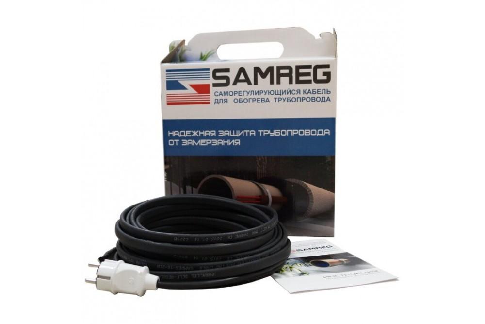 Обогревающий кабель Samreg - 1 м с муфтой для питьевой воды 2