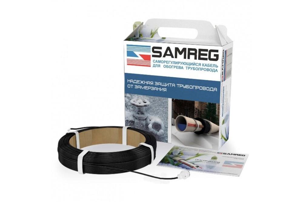 Обогревающий кабель Samreg - 2 м с муфтой для питьевой воды 3
