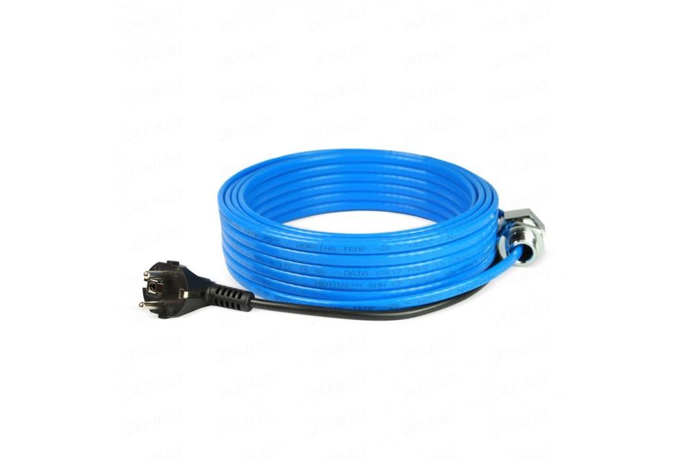 Обогревающий кабель Samreg - 7 м с муфтой для питьевой воды 1