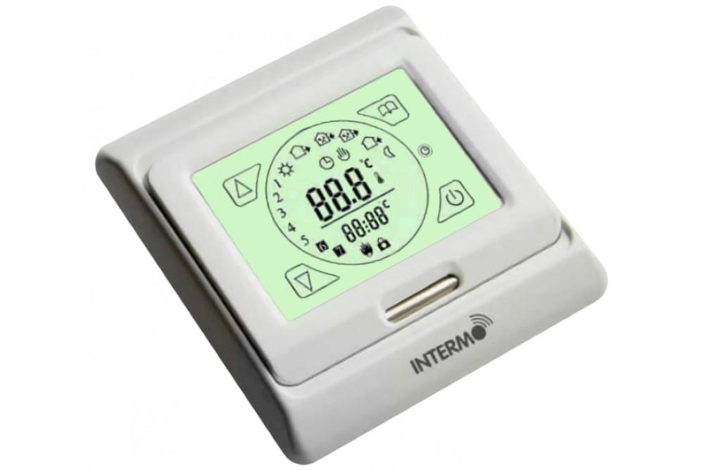 Терморегулятор E-203 (электронный непрограммируемый с сенсорным экраном)