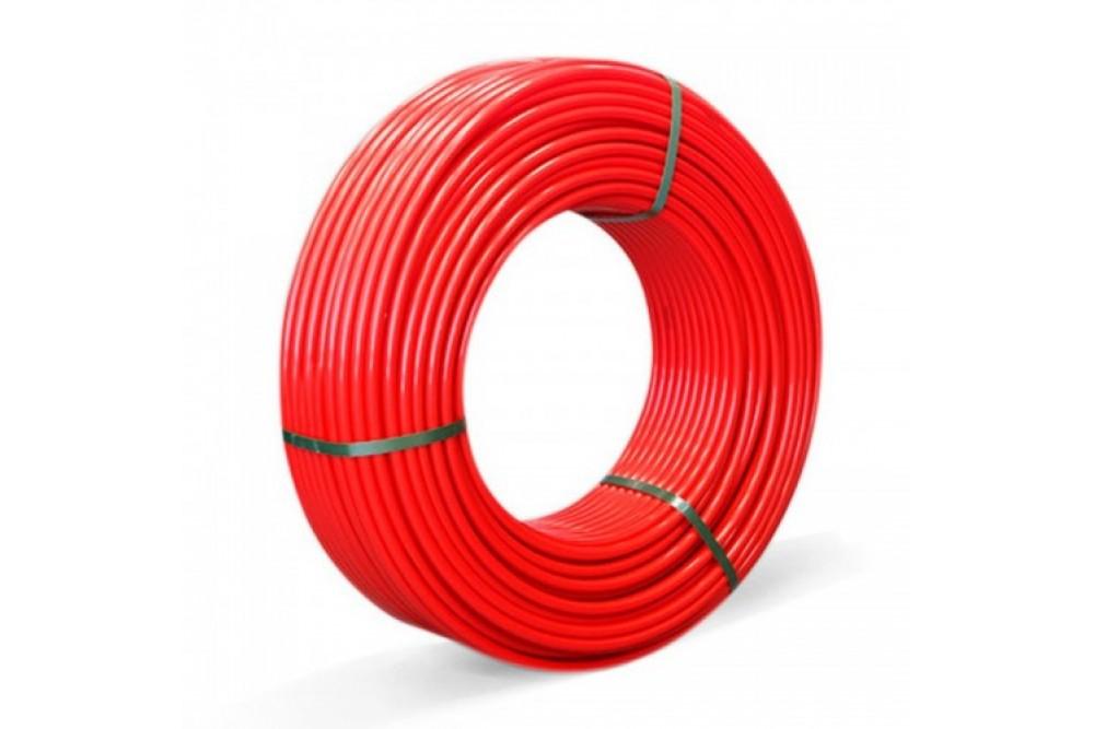 Полиэтиленовая труба PE-RT ф16 Милленниум красная для теплого пола