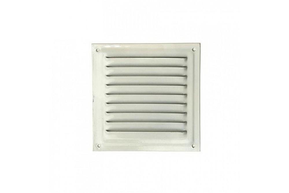 Вентиляционная решетка 15х15 металл белая