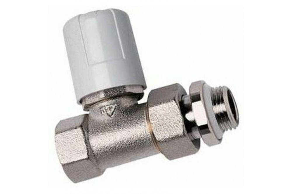 Кран для радиатора отопления прямой 1/2г, ш, верхний люксор