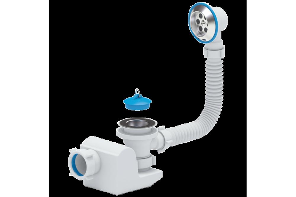 Сифон для ванны АНИ 1 1/2x40 E155