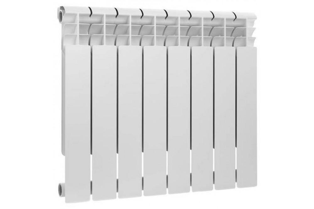 Радиатор биметал Rommer 500 см 8 секций 6